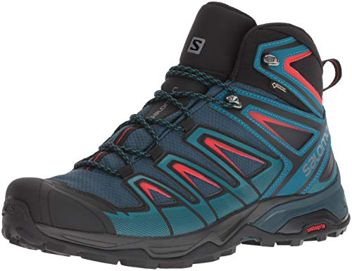 Salomon Herren Wanderschuhe X Ultra 3 MID GTX Reflecting Pond/Deep Lagoon/High Ri 45 1/3