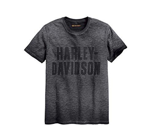 HARLEY-DAVIDSON® Men's Jersey Applique Logo Slim Fit Tee (2XL) (Xxl Herren Davidson T-shirts Harley)