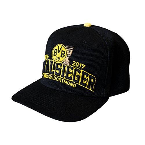 "BVB Kappe zum DFB POKALSIEG Borussia Dortmund + gratis Sticker ""Dortmund forever"", Cap, Mütze, Hut, Basecap"