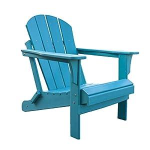 PANAMA JACK PJO-4001-TEAL Adirondack Chair, Teal