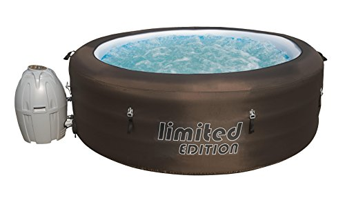 Bestway Lay-Z-Spa Limited Whirpool, mit Filterpumpe, beheizter Pool Outdoor, Ø 196...