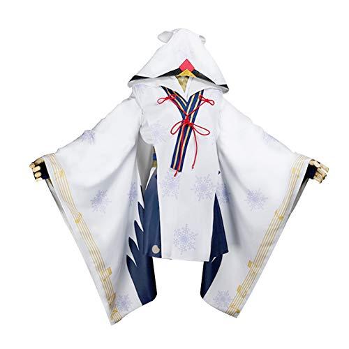 (Yeming5704 Vocaloid Miku Hatsune Miku Schneehexe Cosplay Kostüm Damen XL)