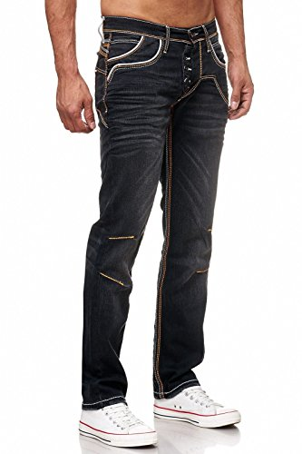 Herren Jeans Hose Designer Denim für Männer Jungen Jungs A18442-33 Model 1