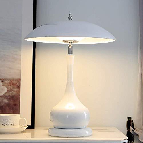 Marca: Zenghh   Peso del artículo: 2,7 kg   Color: Negro, blanco   Tipo: lámpara de mesa de hierro forjado   Potencia: 40W   Voltaje: 90-240V   Material: hierro   Estilo: Postmodern   Tipo básico: LED   Tamaño: 42 * 32 cm   tipo de fuente de luz: ...