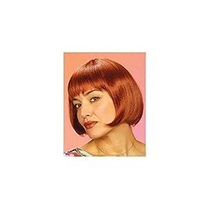 WIDMANN m0913?Mujer Peluca Michelle, Talla única Adultos en Caja, Color marrón