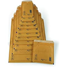 Caja lote de 100 Sobres Kraft Acolchados Burbuja marron Nº-15 220x260 000015AV