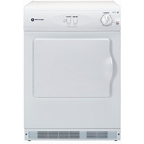 White Knight c44awl Freestanding Front-Load 6 kg C White Tumble Dryer