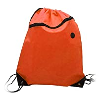 Latinaric Drawstring Sack Bag Backpack Pouch Sport Gym Outdoors