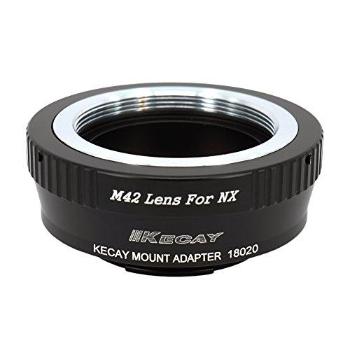 KECAY Objektiv Adapterring Objektivadapter für M42 42mm Screw Mount Objektiv auf Samsung NX-Mount-Kamera NX1 NX3000 NX2000 NX300M NX300 NX1000 NX210 NX200 NX30 NX20 NX5 Objektiv Adapter M42 - NX M42 Screw Mount