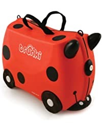 Knorrtoys.com - 10102 - Valise à roulettes Trunki Coccinelle