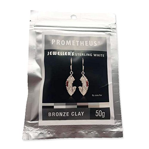Prometheus Jeweller's Sterling White Bronze clay 50 g