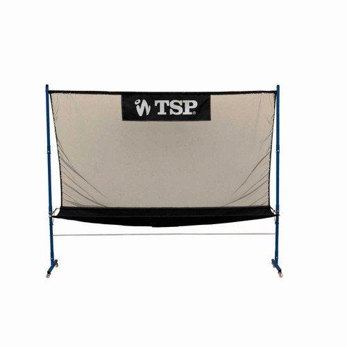 Tsp - Filet Récupérateur de ping pong tennis de table sur roulettes
