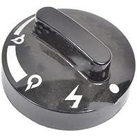 DeLonghi Dial Negro Estufa bombona Gas Ch SC85 xbs300 0120250014 0120250010