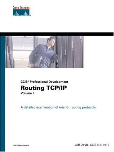 Routing TCP/IP Volume I (CCIE Professional Development) by Jeff Doyle (1998-09-28) par Jeff Doyle