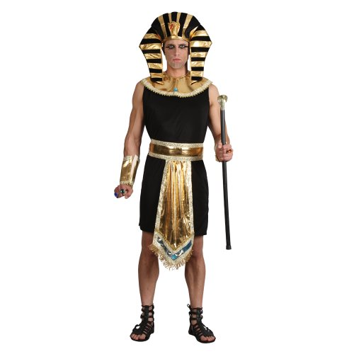 Rey egipcio - traje adulto Hombres: MEDIO - 104cm