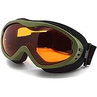 Gafas de deportes de invierno, cristal con protección UV 100% y antiniebla, unisex