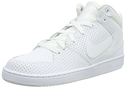 Nike Herren Priority Mid Basketballschuhe, Weiß (White/White-Wolf Grey), 42 EU (7.5 UK )