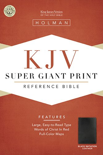 Super Giant Print Reference Bible-KJV (King James Version)