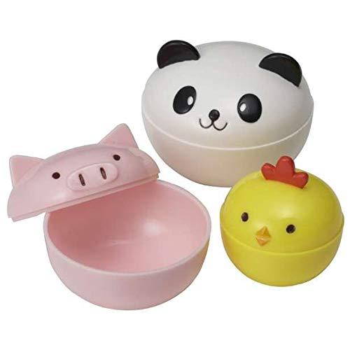 süße Panda Huhn Mini Soßen Behälter für Bento Box Lunch Box (Dip-behälter, Lunch-box)