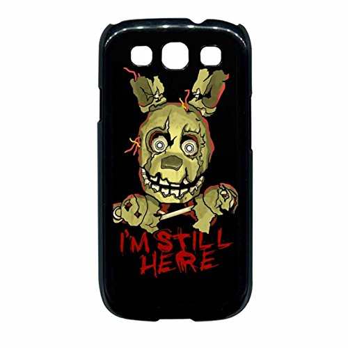 Five Nights At Freddy S Springtrap Case Cover / Color Nero Rubber / Device Samsung Galaxy S3