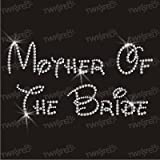 Crystal Innovation mother of the bride hotfix iron-on rhinestone transfer