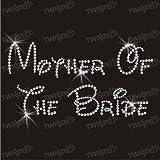 Crystal Innovation mother of the bride hotfix iron-on rhinestone transfer