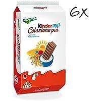 6x Kinder Ferrero Colazione più Kuchen mit Körner 10x 30 gr sweet snack kekse riegel