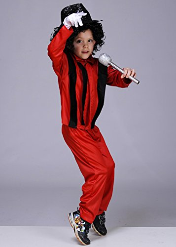 Magic Box Int. Michael Jackson Thriller Kostüm Kinder Medium (6-8yrs)