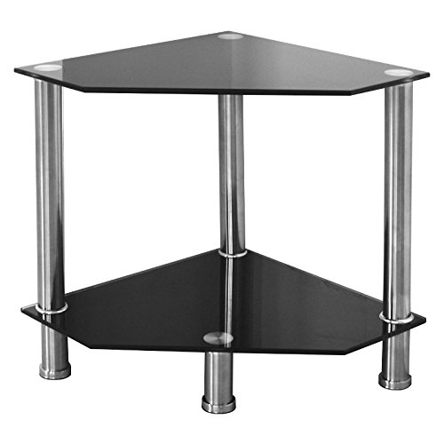 stylish-and-elegant-alto-black-glass-occasional-stand-with-silver-chrome-legs-great-showcase-for-mod