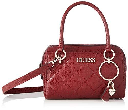 Guess - Wilona, Bolso de mano Mujer, Rojo (Merlot), 14.5x16x25 cm (W x H L)