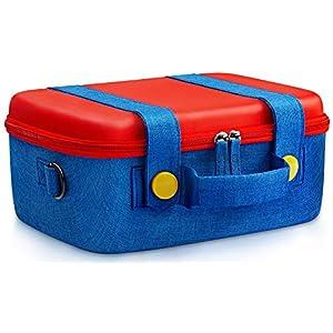 Funlab Tragetasche Reisetasche Kompatibel mit Nintendo Switch System,Süß und Deluxe,Schutztasche Schutzhülle Hartschalen…