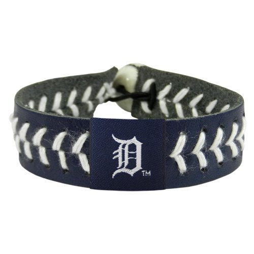 Mlb Team Baseballs (GameWear MLB Detroit Tigers Team Farbe Baseball Armband)