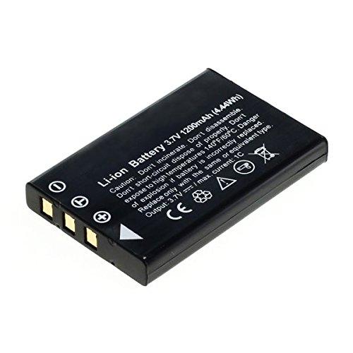 Cellonic® batteria premium per toshiba camileo p10 p30, camileo h20 hd h10, camileo s10, camileo pro hd, toshiba pdr-t20, pdr-t30 (1200mah) np-60,pdr-bt3,px1425e-1brs batterie di ricambio, accu sostituzione, sostituto