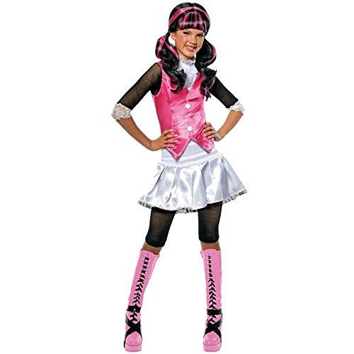 Monster High Draculaura Gr. M (5-7 Jahre) Fasching Karneval Kostüm Kinderkostüm Mottoparty Kleid Boo ()