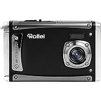 Rollei Sportsline 80 wasserdichte Digitalkamera, ideal für den Urlaub (8 Megapixel, 6,1 cm (2,4 Zoll) Farb-TFT-LCD, Full HD-Videofunktion) - Schwarz