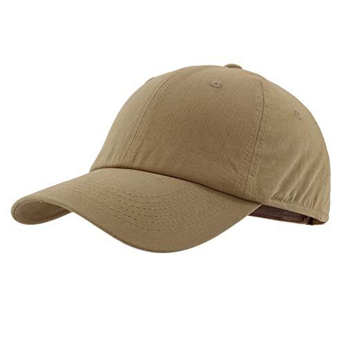 Gisdanchz Basecap Baseball Cap Herren Profile Design Sommer Baseballcap Golf Männer Baseballkappe Damen Mütze Kappe Base Cap Men Dad Hat Women Polo Hats Khaki