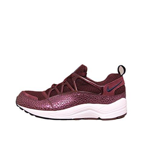 Nike Mens Air Huarache Leather Trainers deep burgundy obsidian white 641
