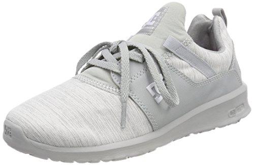 DC Shoes Damen Heathrow TX SE Sneaker, Grau Grey-Combo Xsss, 40 EU