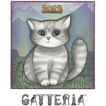 Cat Calendar 2013, illustrated