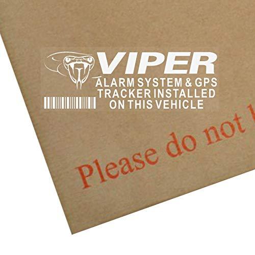 5 x VIPER Alarm und GPS Gerät Sicherheit Fenstertattoo 87 x 30 mm, Auto, Van Warnung Tracker-Zeichen