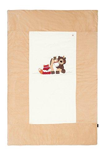 Candide 144430.0 Tagesdecke/Krabbeldecke für Bett, 60 x 120 plus 70 x 140 cm, 100 x 150 cm
