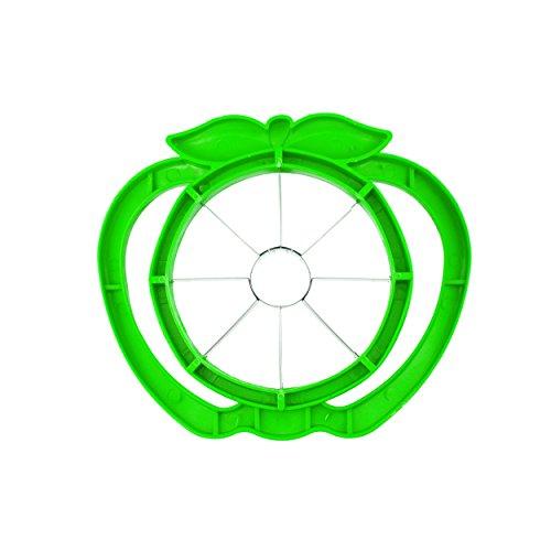 Große Apple Cutter Neue Advanced Apple Schneide, Cutter, Slitter, Edelstahl Apple Schneide, 8Sharp Sägeblatt, ergonomischer Griff und Kunststoff baseshun Yi