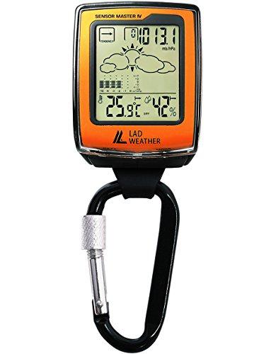 [LAD WEATHER] Reloj mosquetón sensor americano altímetro/ barómetro/ brújula digital/ previsión meteorológica/ higrómetro/ termómetro escalada/ carrera/ senderismo/ al aire libre/ deporte