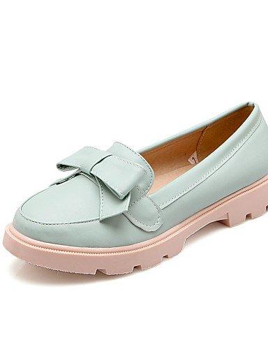 WSS 2016 Chaussures Femme-Bureau & Travail / Décontracté-Bleu / Rose / Blanc / Beige-Talon Bas-Confort / Bout Arrondi-Chaussures à Talons- pink-us9 / eu40 / uk7 / cn41