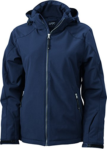 James & Nicholson Damen Wintersport Jacket Jacke Blau (Navy)