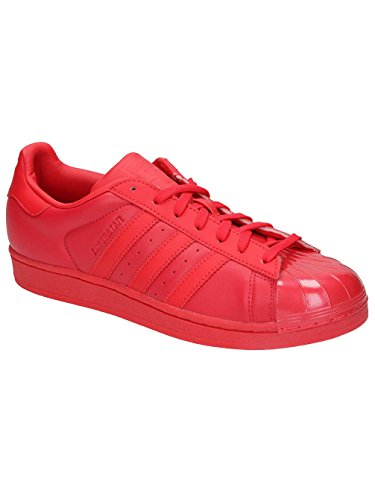 adidas Superstar Glossy, Scarpe da Basket Donna Red