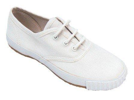 Mirak Enfants 204/Asg14 Plimsolls Chaussures Sport Baskets À Lacet Textile