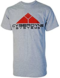 Cyberdyne Systems Terminator Inspired Mens Grey T Shirt