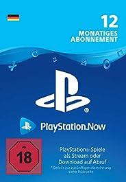 PlayStation Now - Abonnement 12 Monate (deutsches Konto)   PS4 Download Code - deutsches Konto