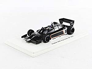 SPARK S7371 - Coche en Miniatura de colección, Color Negro y Blanco